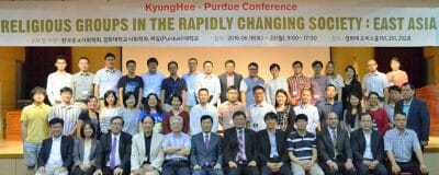 Religious Groups in the Rapidly Changing Society: East Asia