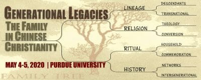 Generational Legacies: The Family in Chinese Christianity 2020